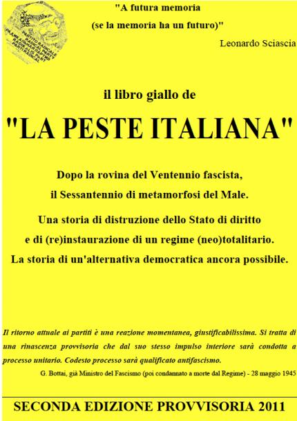 Libro giallo della PESTE ITALIANA- gratuito scaricare leggere attenzione