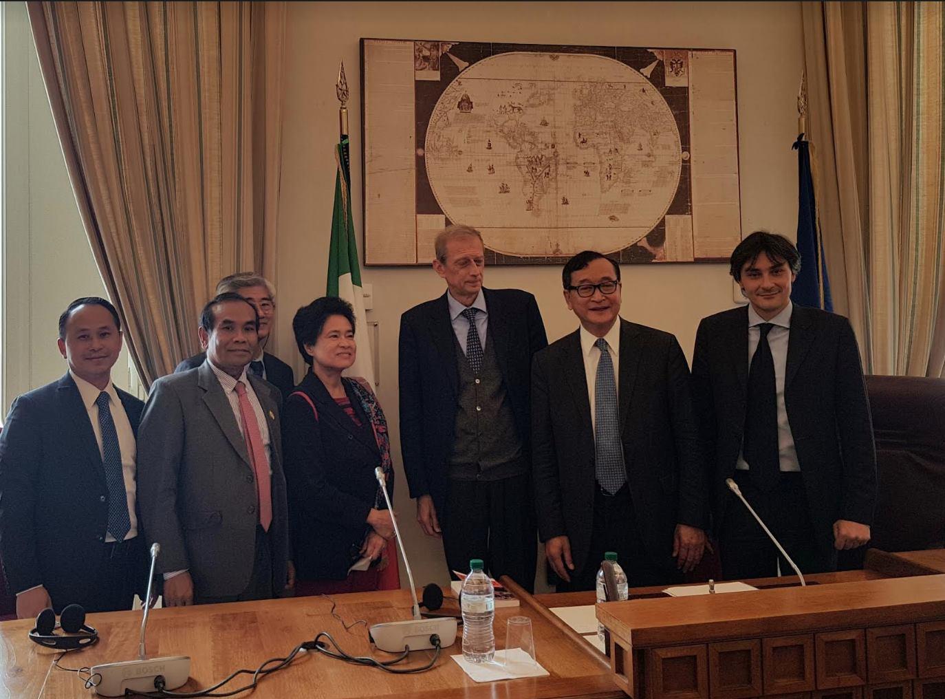 Audizione di sam rainsy alla commissione esteri della for Commissione esteri camera