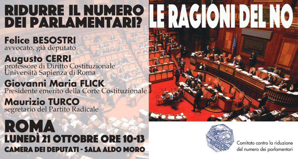 Ridurre il numero dei parlamentari le ragioni del no for Parlamentari numero